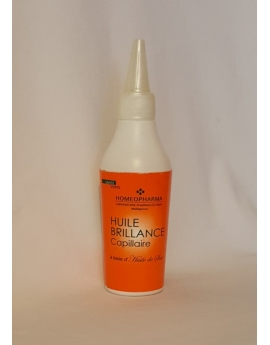 Huile brillance capillaire à base d'Huile de soie 110ml, 100% naturel