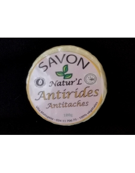Savon Antirides et antitaches  100%naturel
