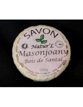 Savon Masonjoany – Bois de santal 100%naturel