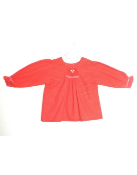 Blouse smocks manches longues 2 ans