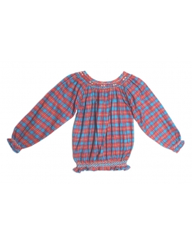 Tunique smocks manches longues 8 ans